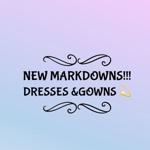 Dresses & Skirts - ✨NEW MARKDOWNS! Dresses and gowns - make an offer!